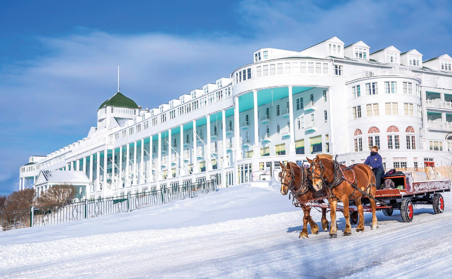 Grand Hotel Is Taking Coronavirus Outbreak Seriously Delaying Season Mackinac Town Crier